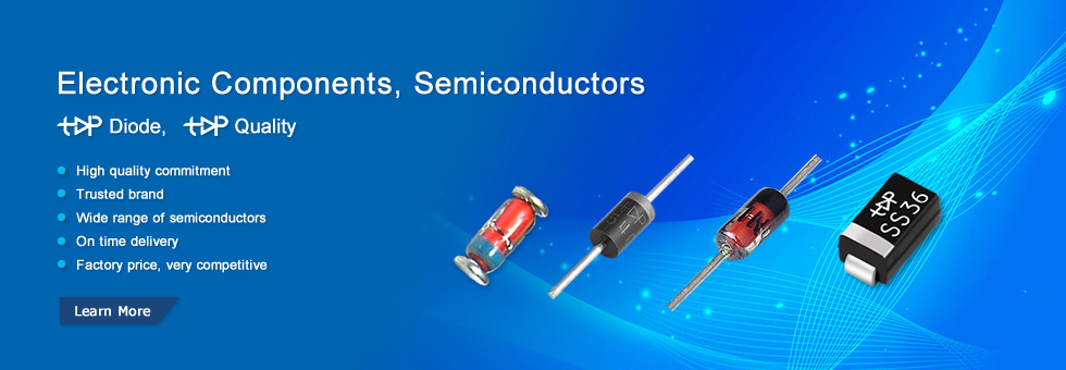 Topdiode Semiconductors Electronic components, active components, diode, bridge, transistor